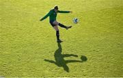 25 November 2020; Jamie Finn during a Republic of Ireland Women training session at the FAI National Training Centre in Abbotstown, Dublin. Photo by Stephen McCarthy/Sportsfile
