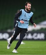 25 November 2020; Stefan Colovic during a Dundalk training session at Aviva Stadium in Dublin. Photo by Ben McShane/Sportsfile