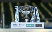 22 November 2020; A general view of the Christy Ring Cup on the podium at the Christy Ring Cup Final match between Down and Kildare at Croke Park in Dublin. Photo by Piaras Ó Mídheach/Sportsfile