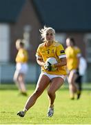 22 November 2020; Áine Tubridy of Antrim during the TG4 All-Ireland Junior Ladies Football Championship Semi-Final match between Antrim and Wicklow at Donaghmore/Ashbourne GAA in Ashbourne, Meath. Photo by Sam Barnes/Sportsfile