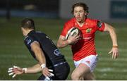 23 November 2020; Ben Healy of Munster during the Guinness PRO14 match between Glasgow Warriors and Munster at Scotstoun Stadium in Glasgow, Scotland. Photo by Bill Murray/Sportsfile