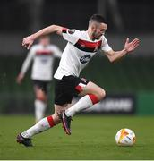 26 November 2020; Michael Duffy of Dundalk during the UEFA Europa League Group B match between Dundalk and SK Rapid Wien at Aviva Stadium in Dublin Photo by Ben McShane/Sportsfile
