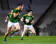 21 November 2020; Eoin Harkin of Meath, 19, during the Leinster GAA Football Senior Championship Final match between Dublin and Meath at Croke Park in Dublin. Photo by Ray McManus/Sportsfile