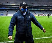 21 November 2020; Dublin manager Dessie Farrell after the Leinster GAA Football Senior Championship Final match between Dublin and Meath at Croke Park in Dublin. Photo by Ray McManus/Sportsfile