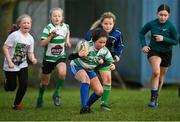 28 November 2020; Avie O'Connor during a Leinster Rugby Girls Give it a try session at Naas RFC in Naas, Kildare. Photo by Ramsey Cardy/Sportsfile