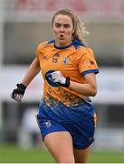 28 November 2020; Chloe Moloney of Clare during the TG4 All-Ireland Intermediate Ladies Football Championship Semi-Final match between Clare and Meath at MW Hire O'Moore Park in Portlaoise, Laois. Photo by Brendan Moran/Sportsfile