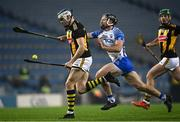 28 November 2020; TJ Reid of Kilkenny in action against Ian Kenny of Waterford during the GAA Hurling All-Ireland Senior Championship Semi-Final match between Kilkenny and Waterford at Croke Park in Dublin. Photo by Harry Murphy/Sportsfile
