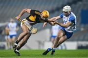 28 November 2020; Billy Ryan of Kilkenny in action against Shane McNulty of Waterford during the GAA Hurling All-Ireland Senior Championship Semi-Final match between Kilkenny and Waterford at Croke Park in Dublin. Photo by Ramsey Cardy/Sportsfile