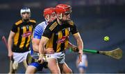 28 November 2020; Cillian Buckley of Kilkenny is tackled by Jack Prendergast of Waterford during the GAA Hurling All-Ireland Senior Championship Semi-Final match between Kilkenny and Waterford at Croke Park in Dublin. Photo by Ray McManus/Sportsfile