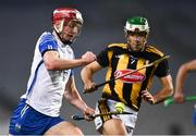 28 November 2020; Calum Lyons of Waterford in action against Paddy Deegan of Kilkenny during the GAA Hurling All-Ireland Senior Championship Semi-Final match between Kilkenny and Waterford at Croke Park in Dublin. Photo by Ray McManus/Sportsfile
