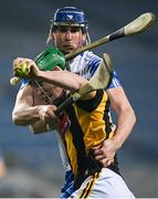 28 November 2020; TJ Reid of Kilkenny in action against Conor Prunty of Waterford during the GAA Hurling All-Ireland Senior Championship Semi-Final match between Kilkenny and Waterford at Croke Park in Dublin. Photo by Harry Murphy/Sportsfile
