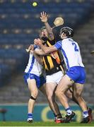 28 November 2020; Eoin Cody of Kilkenny is tackled by Tadhg De Búrca, left, and Ian Kenny of Waterford during the GAA Hurling All-Ireland Senior Championship Semi-Final match between Kilkenny and Waterford at Croke Park in Dublin. Photo by Ray McManus/Sportsfile