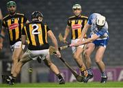 28 November 2020; Stephen Bennett of Waterford shoots to score his side's first goal during the GAA Hurling All-Ireland Senior Championship Semi-Final match between Kilkenny and Waterford at Croke Park in Dublin. Photo by Harry Murphy/Sportsfile