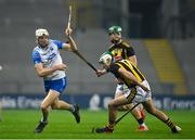 28 November 2020; Jack Fagan of Waterford in action against Paddy Deegan of Kilkenny during the GAA Hurling All-Ireland Senior Championship Semi-Final match between Kilkenny and Waterford at Croke Park in Dublin. Photo by Ramsey Cardy/Sportsfile