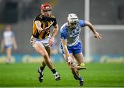 28 November 2020; Dessie Hutchinson of Waterford in action against Cillian Buckley of Kilkenny during the GAA Hurling All-Ireland Senior Championship Semi-Final match between Kilkenny and Waterford at Croke Park in Dublin. Photo by Harry Murphy/Sportsfile