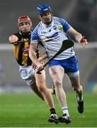 28 November 2020; Austin Gleeson of Waterford in action against Cillian Buckley of Kilkenny during the GAA Hurling All-Ireland Senior Championship Semi-Final match between Kilkenny and Waterford at Croke Park in Dublin. Photo by Harry Murphy/Sportsfile