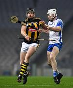 28 November 2020; Walter Walsh of Kilkenny is tackled by Shane McNulty of Waterford during the GAA Hurling All-Ireland Senior Championship Semi-Final match between Kilkenny and Waterford at Croke Park in Dublin. Photo by Ray McManus/Sportsfile