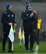 28 November 2020; Waterford manager Liam Cahill, right, and selector Michael Bevans during the GAA Hurling All-Ireland Senior Championship Semi-Final match between Kilkenny and Waterford at Croke Park in Dublin. Photo by Ramsey Cardy/Sportsfile