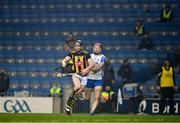 28 November 2020; Walter Walsh of Kilkenny in action against Calum Lyons of Waterford during the GAA Hurling All-Ireland Senior Championship Semi-Final match between Kilkenny and Waterford at Croke Park in Dublin. Photo by Ray McManus/Sportsfile