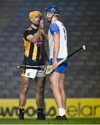 28 November 2020; Colin Fennelly of Kilkenny and Conor Prunty of Waterford after the GAA Hurling All-Ireland Senior Championship Semi-Final match between Kilkenny and Waterford at Croke Park in Dublin. Photo by Ray McManus/Sportsfile