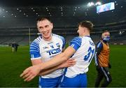 28 November 2020; Austin Gleeson, left, and Jack Fagan of Waterford following the GAA Hurling All-Ireland Senior Championship Semi-Final match between Kilkenny and Waterford at Croke Park in Dublin. Photo by Ramsey Cardy/Sportsfile