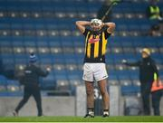 28 November 2020; Padraig Walsh of Kilkenny reacts at the full-time whistle following the GAA Hurling All-Ireland Senior Championship Semi-Final match between Kilkenny and Waterford at Croke Park in Dublin. Photo by Harry Murphy/Sportsfile