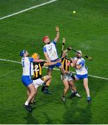 28 November 2020; Waterford players, from left, Conor Prunty, Tadhg de Búrca, Shane McNulty in action against Colin Fennelly, left, and Richie Hogan of Kilkenny during the GAA Hurling All-Ireland Senior Championship Semi-Final match between Kilkenny and Waterford at Croke Park in Dublin. Photo by Daire Brennan/Sportsfile