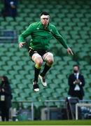 29 November 2020; Ireland captain James Ryan prior to the Autumn Nations Cup match between Ireland and Georgia at the Aviva Stadium in Dublin. Photo by David Fitzgerald/Sportsfile