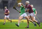 29 November 2020; Kyle Hayes of Limerick in action against Gearóid McInerney of Galway during the GAA Hurling All-Ireland Senior Championship Semi-Final match between Limerick and Galway at Croke Park in Dublin. Photo by Eóin Noonan/Sportsfile