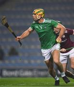 29 November 2020; Dan Morrissey of Limerick during the GAA Hurling All-Ireland Senior Championship Semi-Final match between Limerick and Galway at Croke Park in Dublin. Photo by Ray McManus/Sportsfile