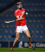 28 November 2020; Paul Matthews of Louth during the Lory Meagher Cup Final match between Fermanagh and Louth at Croke Park in Dublin. Photo by Ray McManus/Sportsfile