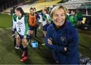 30 November 2020; Manager Vera Pauw during a Republic of Ireland training session at Tallaght Stadium in Dublin. Photo by Stephen McCarthy/Sportsfile