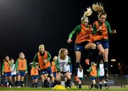 30 November 2020; Denise O'Sullivan and Heather Payne, right, during a Republic of Ireland training session at Tallaght Stadium in Dublin. Photo by Stephen McCarthy/Sportsfile