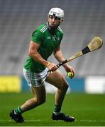 29 November 2020; Aaron Gillane of Limerick during the GAA Hurling All-Ireland Senior Championship Semi-Final match between Limerick and Galway at Croke Park in Dublin. Photo by Piaras Ó Mídheach/Sportsfile
