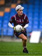 29 November 2020; Leona Archibold of Westmeath during the TG4 All-Ireland Intermediate Ladies Football Championship Semi-Final match between Roscommon and Westmeath at Glennon Brothers Pearse Park in Longford. Photo by Sam Barnes/Sportsfile