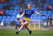 29 November 2020; Laura Fleming of Roscommon during the TG4 All-Ireland Intermediate Ladies Football Championship Semi-Final match between Roscommon and Westmeath at Glennon Brothers Pearse Park in Longford. Photo by Sam Barnes/Sportsfile
