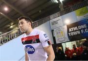 29 November 2020; Brian Gartland of Dundalk prior to the Extra.ie FAI Cup Semi-Final match between Athlone Town and Dundalk at Athlone Town Stadium in Athlone, Westmeath. Photo by Stephen McCarthy/Sportsfile