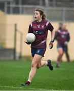 29 November 2020; Anna Jones of Westmeath during the TG4 All-Ireland Intermediate Ladies Football Championship Semi-Final match between Roscommon and Westmeath at Glennon Brothers Pearse Park in Longford. Photo by Sam Barnes/Sportsfile