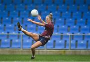 29 November 2020; Jo Hanna Maher of Westmeath during the TG4 All-Ireland Intermediate Ladies Football Championship Semi-Final match between Roscommon and Westmeath at Glennon Brothers Pearse Park in Longford. Photo by Sam Barnes/Sportsfile