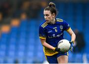 29 November 2020; Ellen Irwin of Roscommon during the TG4 All-Ireland Intermediate Ladies Football Championship Semi-Final match between Roscommon and Westmeath at Glennon Brothers Pearse Park in Longford. Photo by Sam Barnes/Sportsfile