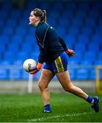 29 November 2020; Helena Cummins of Roscommon during the TG4 All-Ireland Intermediate Ladies Football Championship Semi-Final match between Roscommon and Westmeath at Glennon Brothers Pearse Park in Longford. Photo by Sam Barnes/Sportsfile