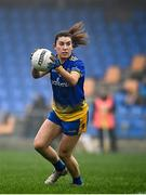 29 November 2020; Joanne Cregg of Roscommon during the TG4 All-Ireland Intermediate Ladies Football Championship Semi-Final match between Roscommon and Westmeath at Glennon Brothers Pearse Park in Longford. Photo by Sam Barnes/Sportsfile