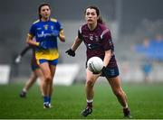29 November 2020; Vicky Carr of Westmeath during the TG4 All-Ireland Intermediate Ladies Football Championship Semi-Final match between Roscommon and Westmeath at Glennon Brothers Pearse Park in Longford. Photo by Sam Barnes/Sportsfile
