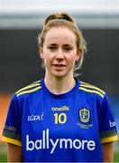 29 November 2020; Laura Fleming of Roscommon ahead of the TG4 All-Ireland Intermediate Ladies Football Championship Semi-Final match between Roscommon and Westmeath at Glennon Brothers Pearse Park in Longford. Photo by Sam Barnes/Sportsfile