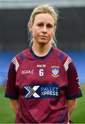 29 November 2020; Fiona Claffey of Westmeath ahead of the TG4 All-Ireland Intermediate Ladies Football Championship Semi-Final match between Roscommon and Westmeath at Glennon Brothers Pearse Park in Longford. Photo by Sam Barnes/Sportsfile