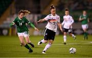 1 December 2020; Marina Hegering of Germany in action against Heather Payne of Republic of Ireland during the UEFA Women's EURO 2022 Qualifier match between Republic of Ireland and Germany at Tallaght Stadium in Dublin. Photo by Stephen McCarthy/Sportsfile