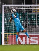 1 December 2020; Grace Moloney of Republic of Ireland makes a save during the UEFA Women's EURO 2022 Qualifier match between Republic of Ireland and Germany at Tallaght Stadium in Dublin. Photo by Stephen McCarthy/Sportsfile