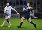 22 November 2020; Liam Turner of Leinster in action against Tomos Williams of Cardiff Blues during the Guinness PRO14 match between Leinster and Cardiff Blues at RDS Arena in Dublin. Photo by Brendan Moran/Sportsfile