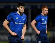 22 November 2020; Harry Byrne, left, and Ciarán Frawley of Leinster during the Guinness PRO14 match between Leinster and Cardiff Blues at RDS Arena in Dublin. Photo by Brendan Moran/Sportsfile