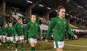 1 December 2020; Jamie Finn of Republic of Ireland prior to the UEFA Women's EURO 2022 Qualifier match between Republic of Ireland and Germany at Tallaght Stadium in Dublin. Photo by Stephen McCarthy/Sportsfile
